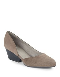 Eileen Fisher Lily Dorsay Suede Wedges Shadow