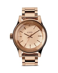 Nixon The Facet Watch 42Mm All Rose Gold