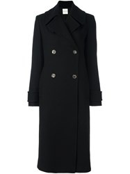 Each X Other Double Breasted Coat Black