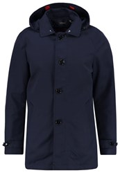 Scotch And Soda Trenchcoat Dark Blue