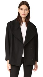 Oak Cropped Admiral Jacket Black