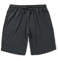 Derek Rose Marlowe Stretch Micro Modal Pyjama Shorts Gray