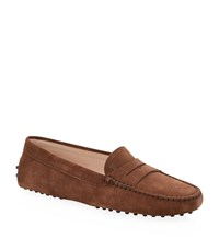 Tod's Gommino Suede Driving Shoe Unisex
