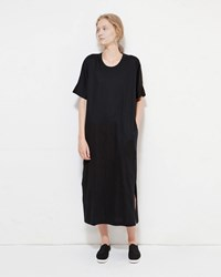 Christophe Lemaire Crewneck Tee Dress Black