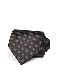 The Men's Store At Bloomingdale's Basket Solid Classic Tie Black