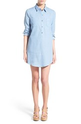 Women's Socialite Cotton Chambray Shirtdress
