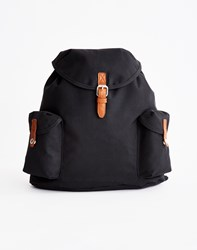 The Idle Man Vintage Rucksack Black