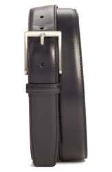 Men's Big And Tall Magnanni 'Catania' Belt Black