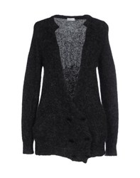 Gold Case Knitwear Cardigans Women Steel Grey