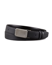Dunhill Woven Leather Panel Buckle Belt