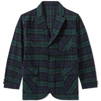 Beams Plus 3 Button Light Blazer Multi