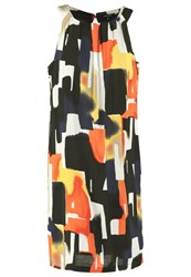 More And More Summer Dress Orange Essence Multi