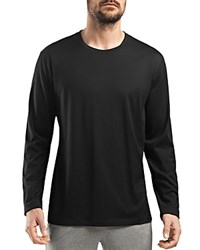 Hanro Night And Day Long Sleeve Tee Black