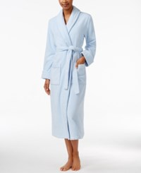 Charter Club Luxe Turkish Cotton Terry Robe Only At Macy's Blue Cloud