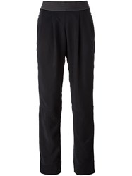 Adidas By Stella Mccartney 'Essentials' Track Pants Black