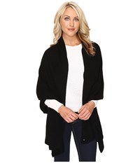 Ugg Luxe Oversized Wrap Black Scarves