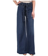 Free People Augusta Clean Flare Pants Maytal Blue Women's Casual Pants