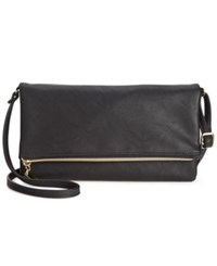 Styleandco. Style And Co. Tunnel Crossbody Only At Macy's Black