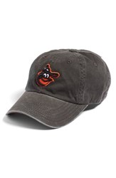 American Needle Women's 'New Raglan Baltimore Orioles' Baseball Cap Black