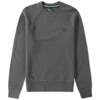 Fred Perry Loopback Crew Sweat Grey