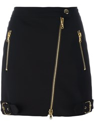 Moschino Biker Skirt Black