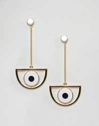 Monki Eye Earring Gold