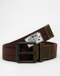 Element Covey Belt Brown