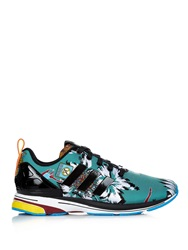 Zx Flux Tropical Print Trainers