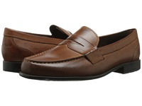 Rockport Classic Loafer Lite Penny Cognac Men's Slip On Dress Shoes Tan