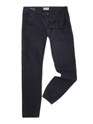Only And Sons Cuffed Chino Trousers Navy