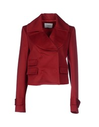 Ports 1961 Suits And Jackets Blazers Women Brick Red