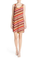 Women's Charlie Jade Print Silk Shift Dress