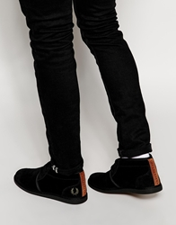 Fred Perry Claxton Desert Boots Black