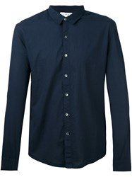 James Perse Classic Shirt Blue