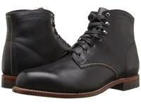 Wolverine Original 1000 Mile 6 Boot Black Leather Men's Work Boots