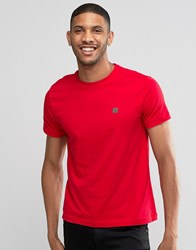 Voi Jeans Crew Neck T Shirt Red