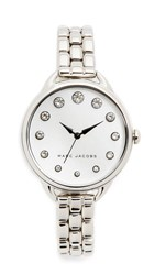 Marc Jacobs The Betty Watch Silver Mop