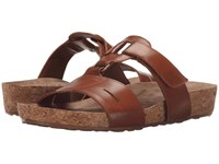 Walking Cradles Penny Luggage Soft Antanado Cork Wrap Women's Sandals Brown