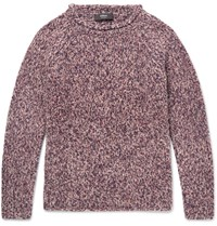 Helbers Cashmere Blend Sweater Grape