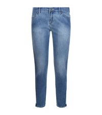 Armani Jeans Iris Skinny Cropped Jeans Female Blue
