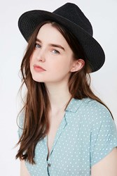 Bdg Straw Panama Hat Black