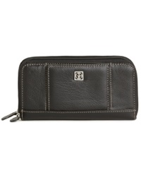 Giani Bernini Wallet Softy Leather Banker Black