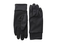 Spyder T Hot Conduct Liner Glove Black Polar Ski Gloves Brown