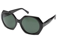 Von Zipper Buelah Black Gloss Vintage Grey Sport Sunglasses