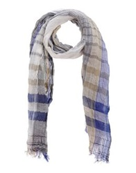 Jacob Cohen Jacob Coh N Oblong Scarves Blue