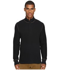 Billy Reid Walter 1 2 Zip Black Men's Clothing