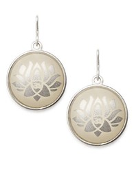Alex And Ani Lotus Peace Petals Necklace Charm Silver