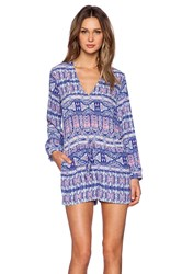 Eight Sixty Romper Blue