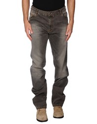 Paul And Shark Denim Denim Trousers Men Dark Brown