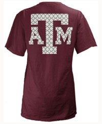 Royce Apparel Inc Women's Texas A And M Aggies Quatre Logo Big T Shirt Maroon
